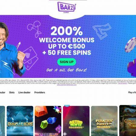 Barz Casino Arvostelu – Korkealaatuinen suomalainen kasino viihdyttää monia